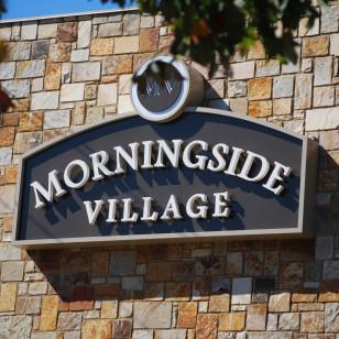 morningsidevillagesign