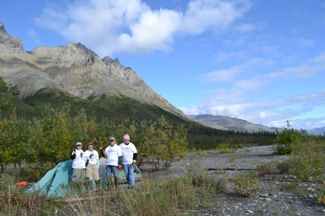 Tshirt alaska arctic natl park
